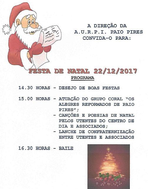 festa de natal 2017
